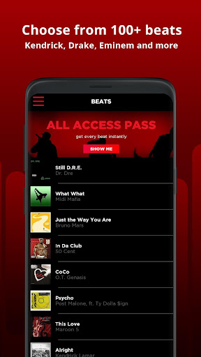 AutoRap by Smule – Make Raps on Cool Beats screenshot 2