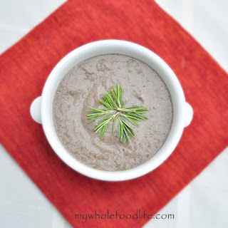 Clean Eating Cream of Mushroom Soup Recipe