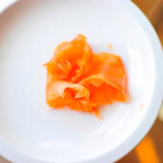 """Citrus Cured Smoked Salmon"" Recipe"