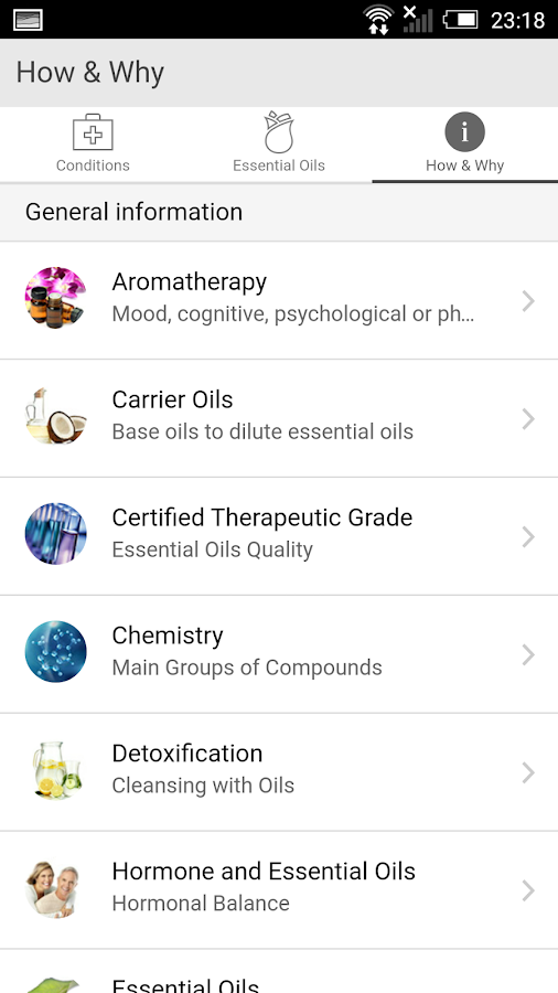 Essential Oils & More- screenshot