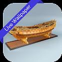 3D Ship Cube Theme LWP icon
