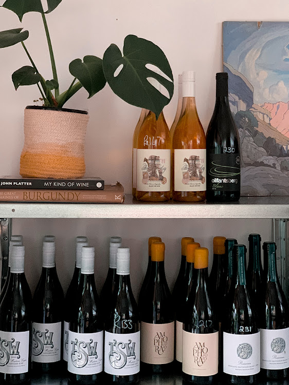 Uncommon wines on sale at Voisin.