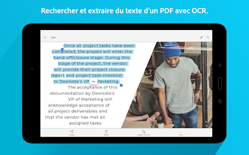 Adobe Scan : PDF Scanner, OCR Capture d'écran
