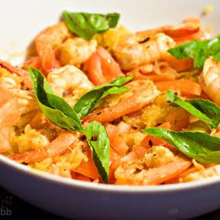 Low Carb Shrimp Fra Diavolo.