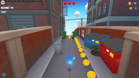 Talking Cat Run 3D - náhled