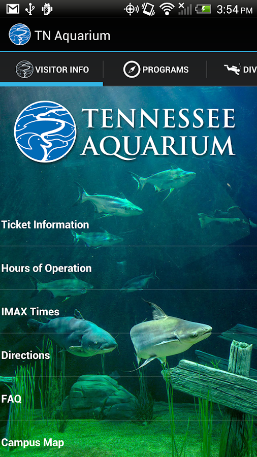Tennessee Aquarium- screenshot