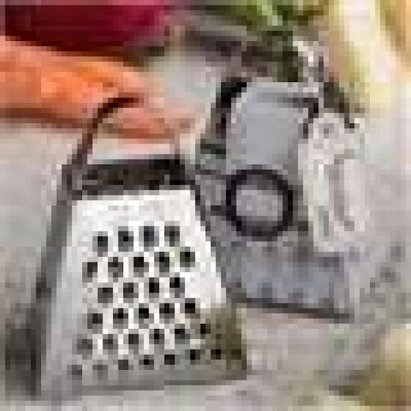 Cheese Grater Clean-up Recipe
