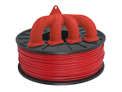 Red PRO Series ABS Filament - 2.85mm (1kg)