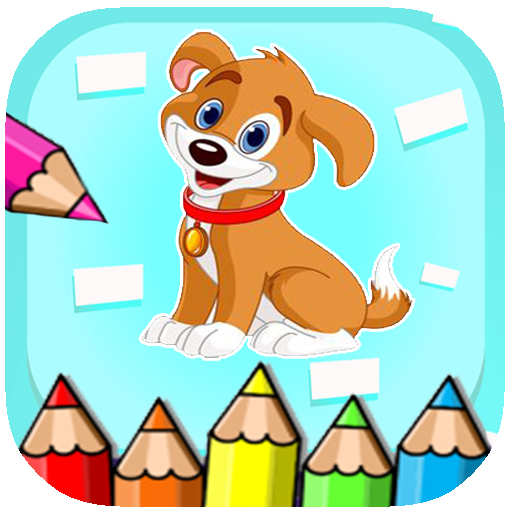 Paint paw Puppy Coloring Patrol (game)