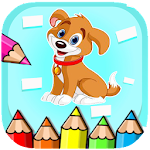Paint paw Puppy Coloring Patrol Icon