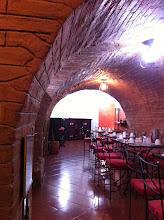 Photo: Dining room at Hotel San Francisco, Quito.
