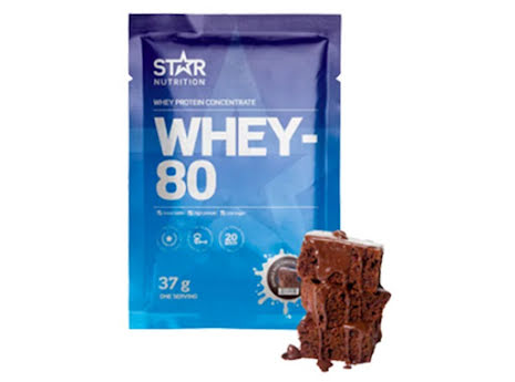 Whey-80 One Serving 37g - Double Rich Chocolate