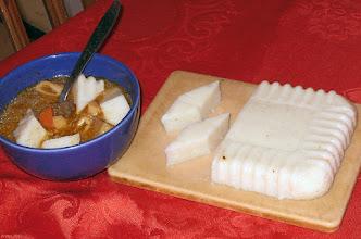 Photo: Zupa grzybowa z kostkami z kaszy manny 43