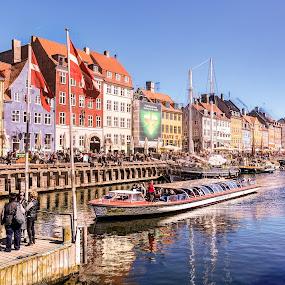 Copenhagen harbor by Steve Densley - Buildings & Architecture Other Exteriors ( copenhagen, harbor, copenhagen harbor, seaside, denmark )