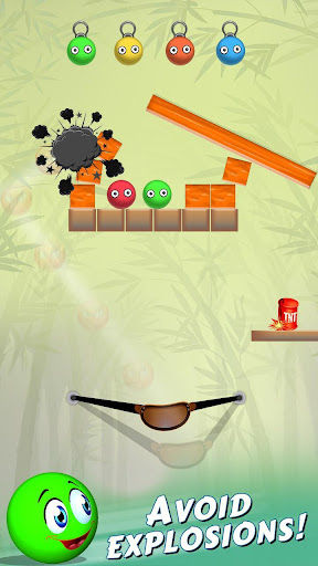 Bounce Ball Shooter - Slingshot The Red Ball 1.0 screenshots 3