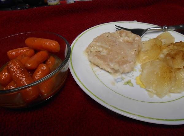 Scalloped Potatoes & Pork Chops Recipe