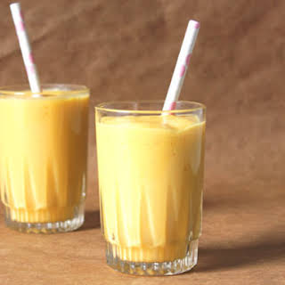 Spicy and Salty Mango Lassi.
