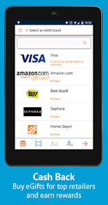 Buy Gift Cards & Visa eGifts screenshot 6