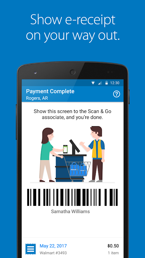 Walmart Scan Amp Go Android Apps On Google Play