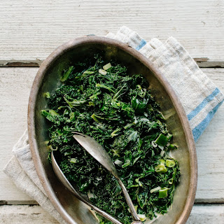 Irish Creamed Kale