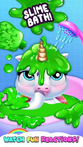 My Baby Unicorn - Virtual Pony Pet Care & Dress Up android2mod screenshots 8