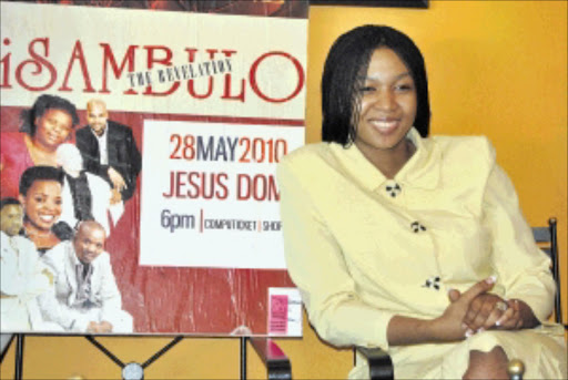 BORN AGAIN: Ayanda Ncwane, founder and editor of the new Christian magazine Isambulo - the Revelation, which is expected to hit the shelves soon. 16/05/2010. © Unknown.