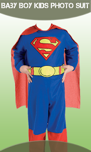 Baby Boy Kids Photo Suit - náhled