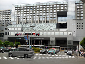 Photo: Our home in Kyoto - the Hotel Granvia Kyoto - part of the train station