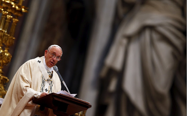 Pope Francis. Picture: REUTERS