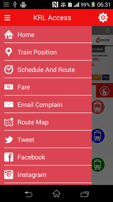 KRL Access- screenshot
