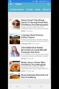 Palembang Blog Native for PC-Windows 7,8,10 and Mac apk screenshot 2