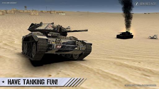 Armored Aces - 3D Tank War Online 3.0.3 screenshots 21