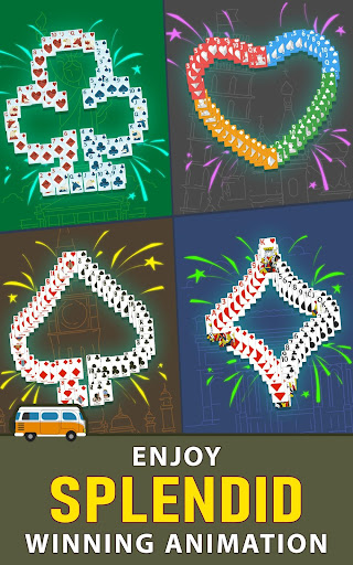 Solitaire Landmark: Brained Out Puzzle Card apkmind screenshots 12