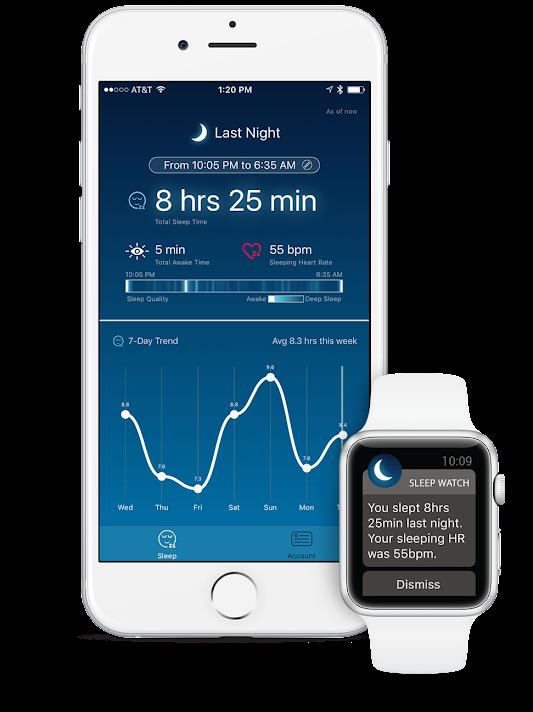 애플와치의 자동 수면 트래킹