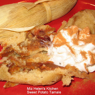 Sweet Potato Tamale Dessert