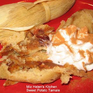 Sweet Potato Tamale Dessert.
