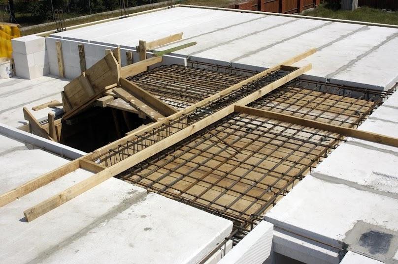 Płyty stropowe z betonu komórkowego