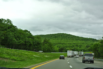 Photo: Driving to Poughkeepsie. The drives were the funnest part of the trip. We got to see such beautiful parts of New York, Pennsylvania, Vermont and Canada.