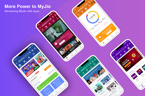 MyJio: For Everything Jio Screenshot