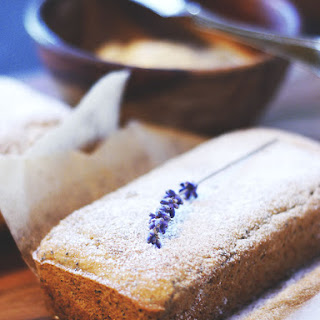 Mini Lemon Poppy Seed Loaves with Whipped Lemon Lavender Butter {Gluten-Free, Vegan, Refined-Sugar-Free, Oil-Free}