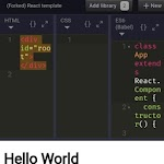 webmaker - play with HTML, CSS , JSS codes 9.2 (AdFree)