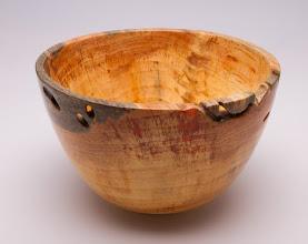 """Photo: Tina Chisener 6 1/2"""" x 4"""" bowl [pine]"""
