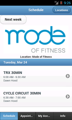 Mode of Fitness Seattle