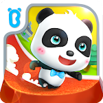 Little Panda Run Icon