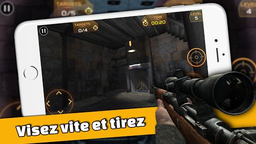 Code Triche Ultimate Sniper: 3D Tireur d'arme à feu apk mod screenshots 4