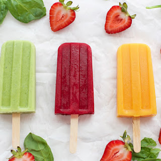 3 Fruit and Veggie Popsicles.