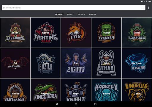 Gaming Logo Design Ideas eSport 2020 2.1 screenshots 10