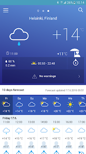 FMI Weather screenshot 0