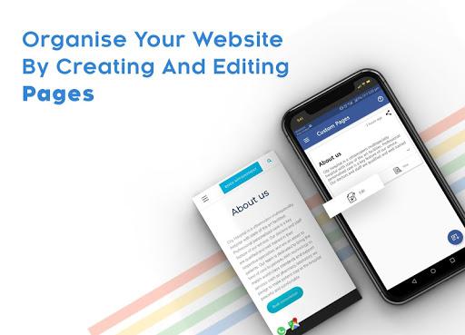 Instant Website Builder With Store: Websites.co.in 2.36 Screenshots 19