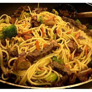 Beef - Vegetable Stir - Fry.